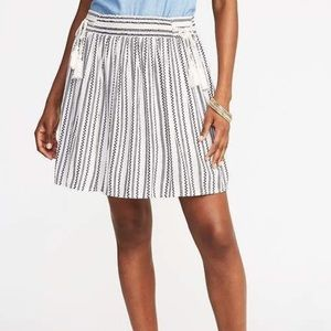 Old Navy tie waist gauze skirt
